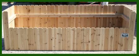Trash Enclosures - Homestead Fence